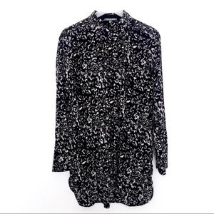 MICHAEL STARS Silk tunic length blouse